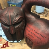 <h5>Kettle Bell</h5><p>reigning blood battleworn</p>