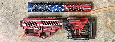 Patriotic Paint Schemes Custom Cerakote
